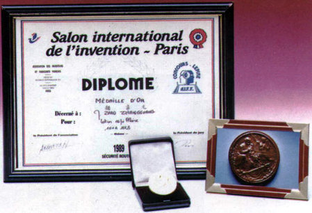 "1989: 101 Serie gewann Goldpokal bei der 80. Messe ""Salon International de l'Invention"" (Internationale Erfinder-Messe) in Paris.\\n\\n30.01.2015 14:57"